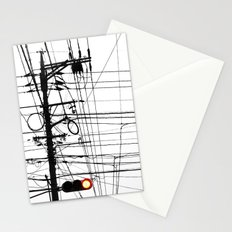 Red Light Stationery Cards
