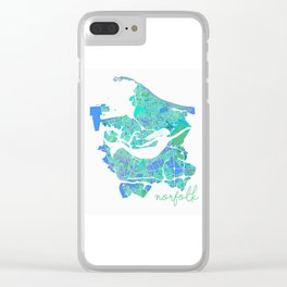 Mermaid in a Sea of Trees Clear iPhone Case