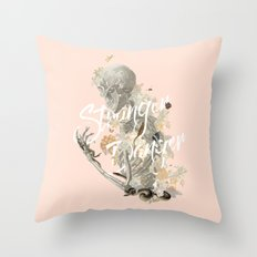 Stranger Danger I Throw Pillow