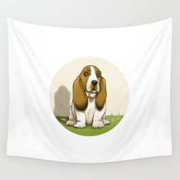Basset Wall Tapestry