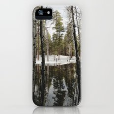 Snowy Forest Grammer Slim Case iPhone (5, 5s)