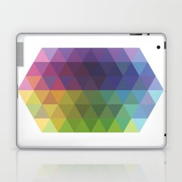 Fig. 016 Geometric Shape Triangles Laptop & iPad Skin