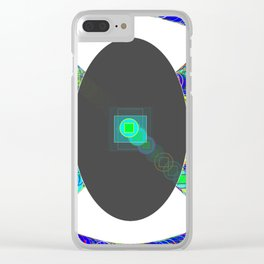 Kinetic Colors 2-22 Clear iPhone Case