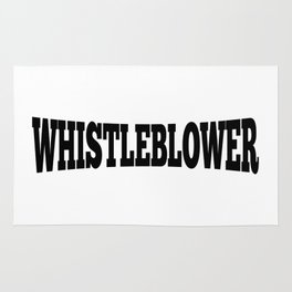 WHISTLEBLOWER Rug