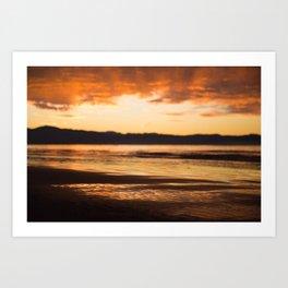 Nelson Sunset Pt. 2 Art Print