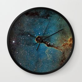 The Elephant Trunk Nebula Wall Clock