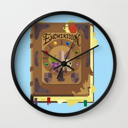 ENCHIRIDION Wall Clock
