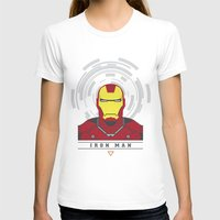 ironman T-shirts featuring IRONMAN by Nuthon Design