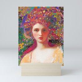 Psych-ed-Emma Mini Art Print