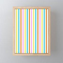 FLAVORED SORBET PATTERN by gail sarasohn Framed Mini Art Print