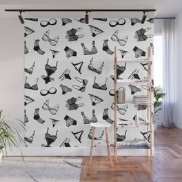 Black Lace Wall Mural