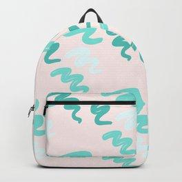mint stroke Backpack