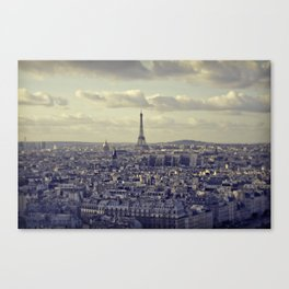 Paris from Above Canvas Print