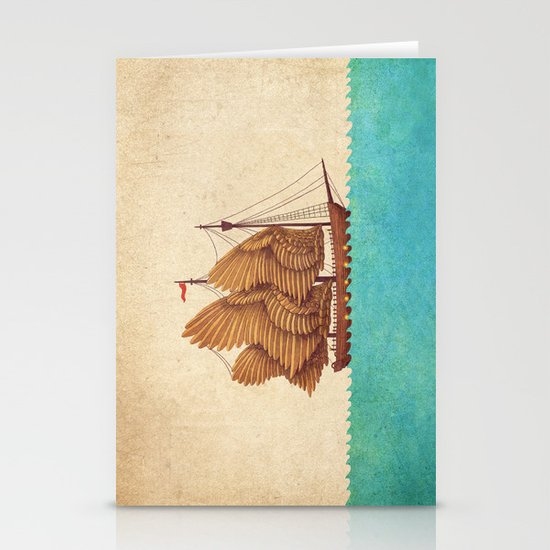 Winged Odyssey Stationery Cards
