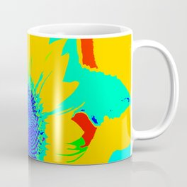 Fun Sunflower #decor #society6 Coffee Mug