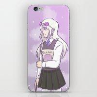 luna lovegood iPhone & iPod Skins featuring Luna Lovegood by TheKingKez