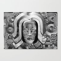 deco Canvas Prints featuring Deco by Mouseizm