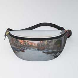 Quiet sunset in Venice, Italy Fanny Pack