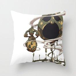 Mud Boss Throw Pillow