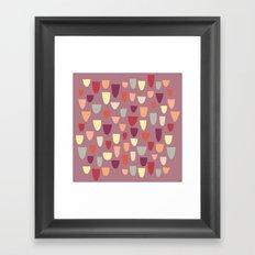 Nougat Framed Art Print