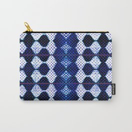 Harlequin/Eggcrate Carry-All Pouch