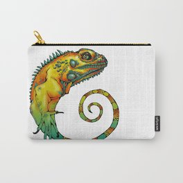 The Lizard Swirl Carry-All Pouch