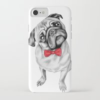 percy jackson iPhone & iPod Cases featuring Percy Pug by 13 Styx
