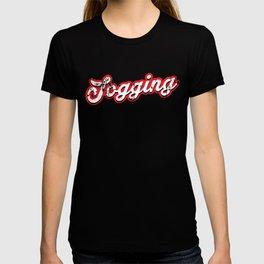 jogging - vintage & distressed T-shirt