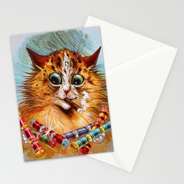 "Louis Wain's Cats ""Tom Smith's Crackers"" Stationery Cards"