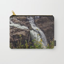 Wildflowers at the Falls Carry-All Pouch