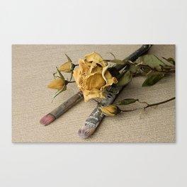 Dried flower Canvas Print