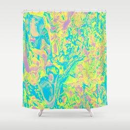NACRE FLUORESCENT Shower Curtain