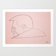 Marv2 Art Print