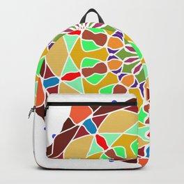 Colors Sun Mandala Backpack