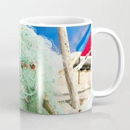 fishing tackle V Coffee Mug