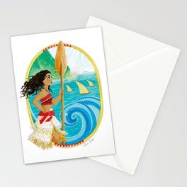 Explorer of the sea Stationery Cards