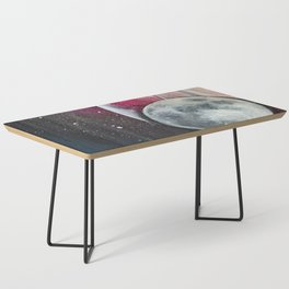 Moon Phases Coffee Table
