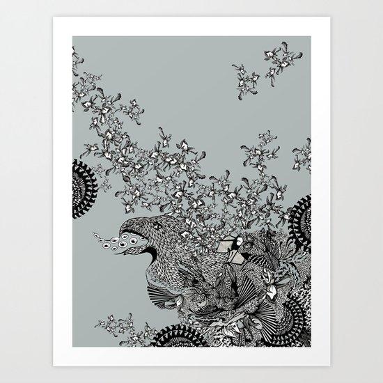 Birdy Art Print