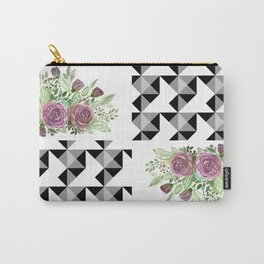 Rustic patchwork 5 Carry-All Pouch