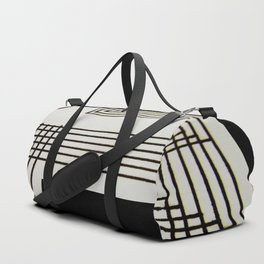 Lines on Paper Duffle Bag