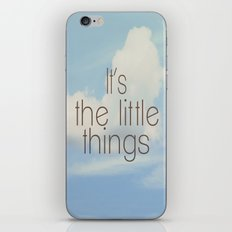 The Little Things iPhone & iPod Skin