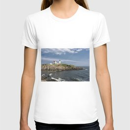 Nubble Lighthouse in Summer T-shirt