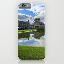 Hartington village pond iPhone Case