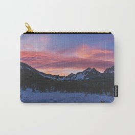 Kearsage Pass Sunrise - Pacific Crest Trail, California Carry-All Pouch