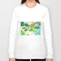 psychedelic Long Sleeve T-shirts featuring Psychedelic by Risahhh