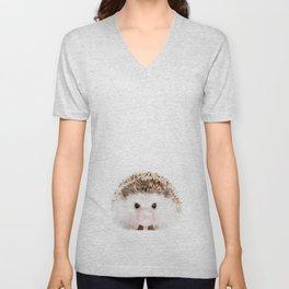 Bubble Gum Hedgehog Unisex V-Neck