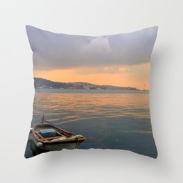 City of Mystery (1) Throw Pillow