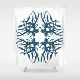 Coral Fan Shower Curtain