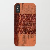 wallet iPhone & iPod Cases featuring Fight Club by elvisbr