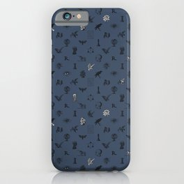 House of the Wise - Pattern II iPhone Case